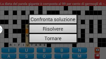 Screenshot of Cruciverba Italiano