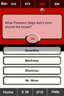 Pokemon FunBlast! Trivia LT - screenshot thumbnail