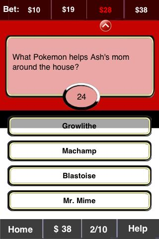 Pokemon FunBlast! Trivia LT - screenshot
