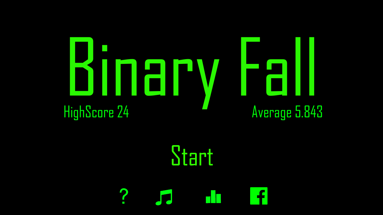 Binary Fall - screenshot