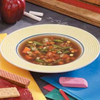 ABC Vegetable Soup.