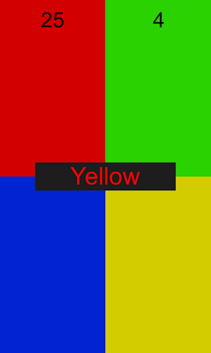 RGBY Tap The Color