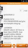Screenshot of C++ Interview Questions