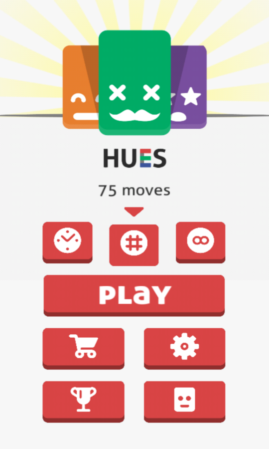 Hues Game - 4x4 card matching!- screenshot