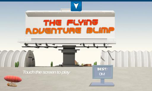 The Flying Adventure Blimp