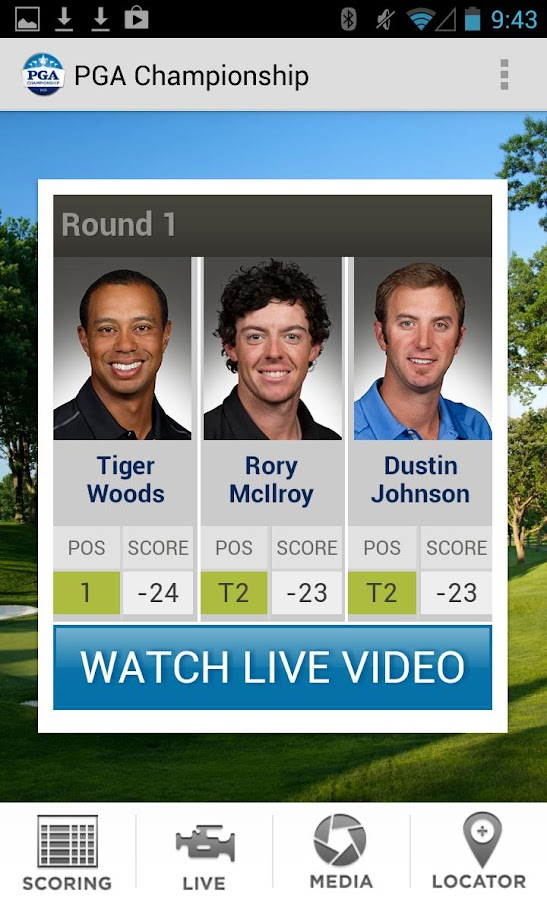 PGA Championship - screenshot