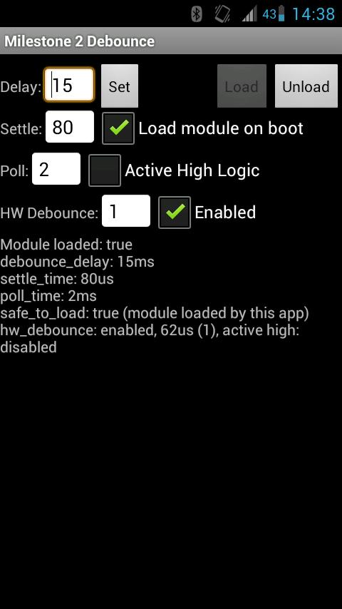 Milestone 2 Debounce- screenshot