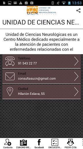 UNIDAD DE CIENCIAS NEUROLOGICA