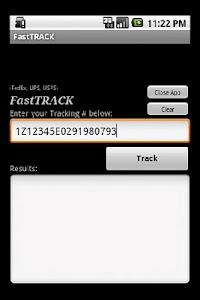 FastTRACK screenshot 0