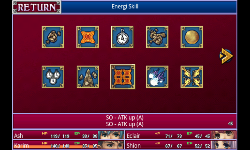 RPG Alphadia - screenshot