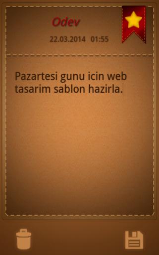 玩工具App Not Defteri免費 APP試玩