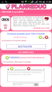 Plan Reduc Codes Promo Gratuit screenshot 2
