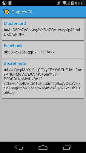 免費下載程式庫與試用程式APP|Crypto NFC — NFC Secret notes app開箱文|APP開箱王