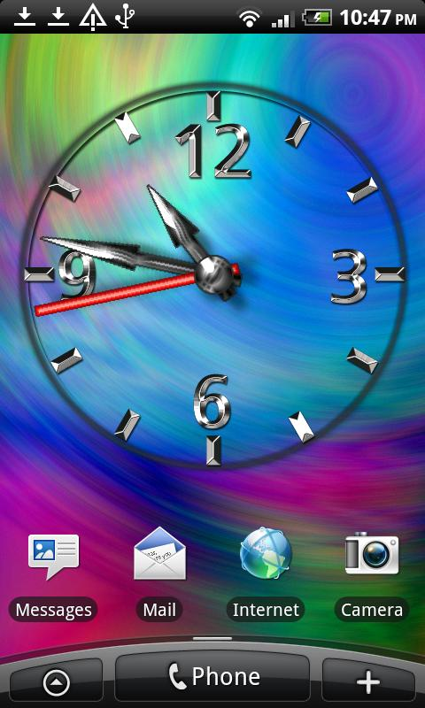 Cool Clock FREE - screenshot