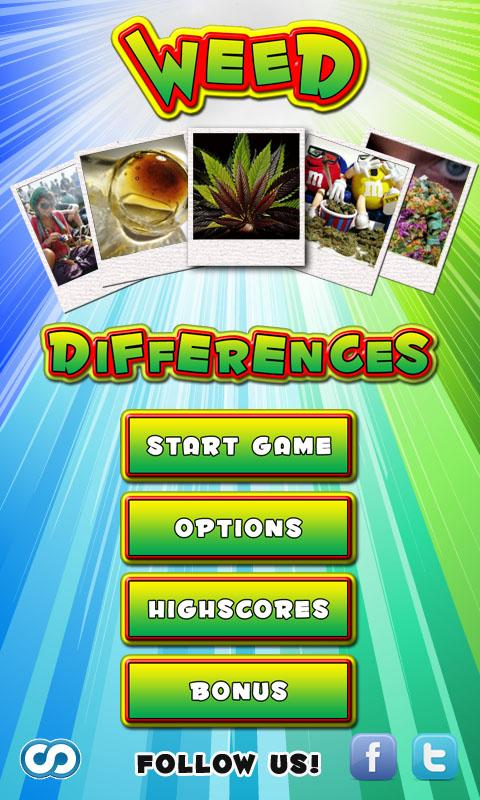 Weed Differences - screenshot