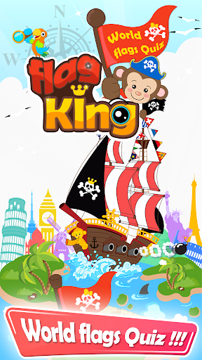 Flag King Quiz Game national
