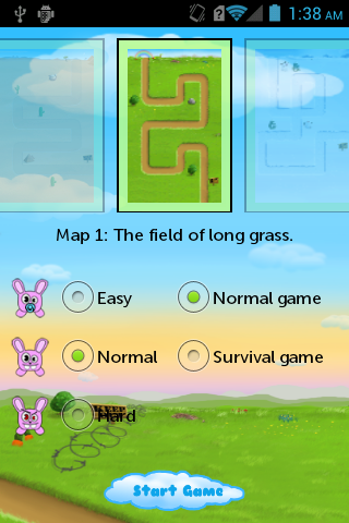 【免費休閒App】Rabbits defence Games-APP點子