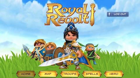 Royal Revolt! Screenshot 1