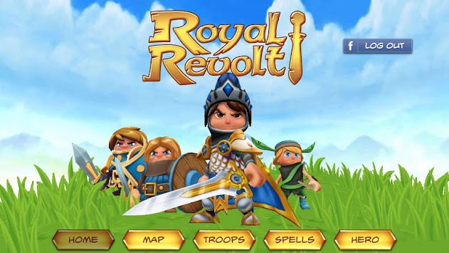 Royal Revolt! APK screenshot thumbnail 1
