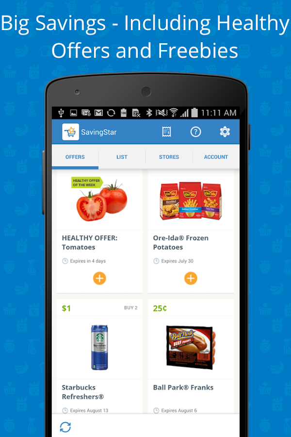 SavingStar - Grocery Savings- screenshot