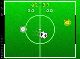 Screenshot of FingerBall Combat Football Fun