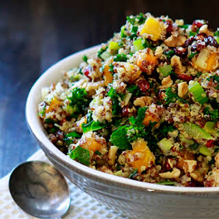 Butternut Squash and Kale Quinoa Stuffing.