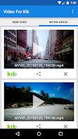 Screenshot of Video For Kik