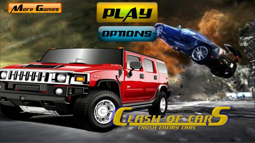 Clash of Cars Crush Enemy Cars