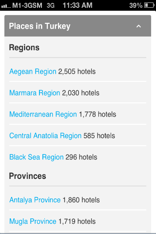Turkey Hotel Booking 80% OFF - screenshot