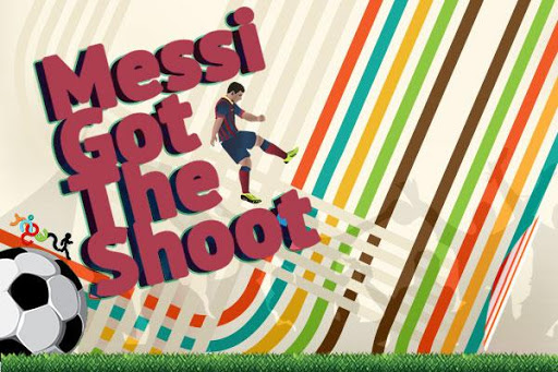 Messi's Got The Shoot Free