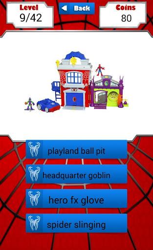 Spider Toy Quiz