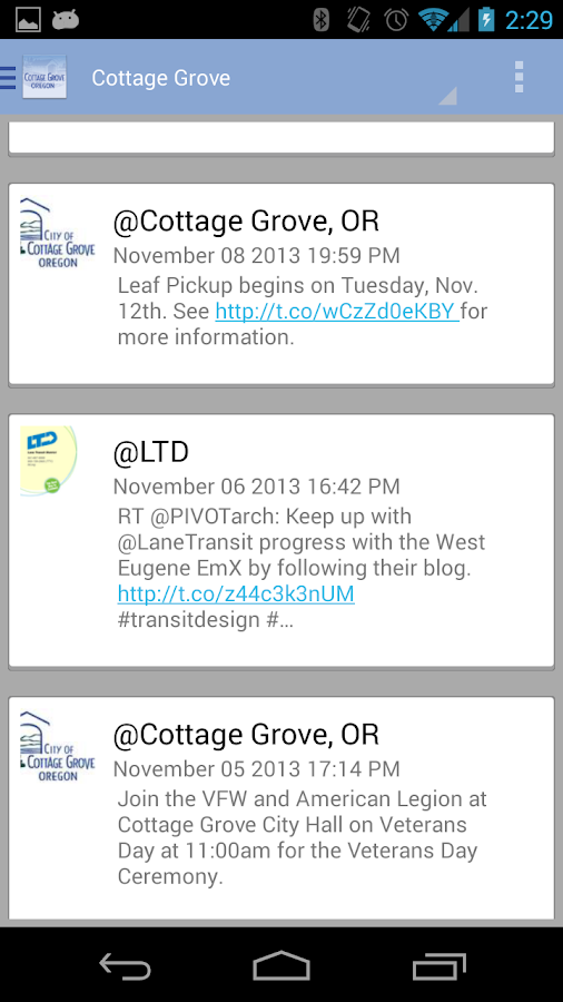 Cottage Grove - screenshot