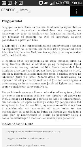 Maung a Balita Biblia