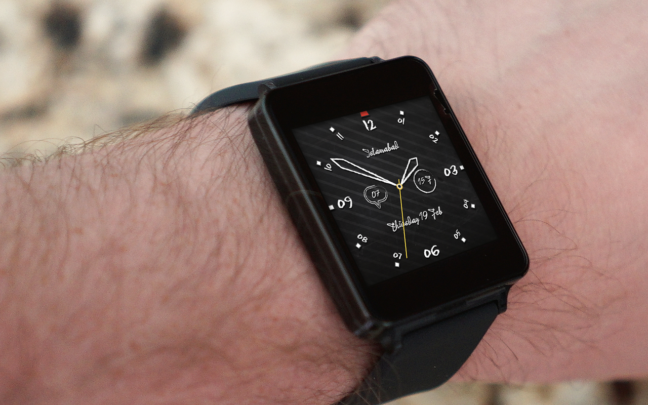 Ancient Classic Watch Face- screenshot