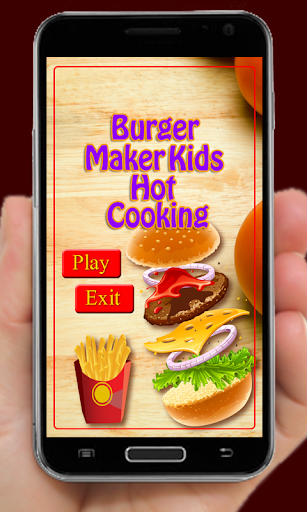 漢堡製作兒童烹飪
