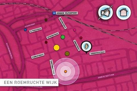 Spijkerspots GPS tour Arnhem- screenshot
