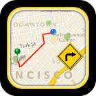 GPS Driving Route icon