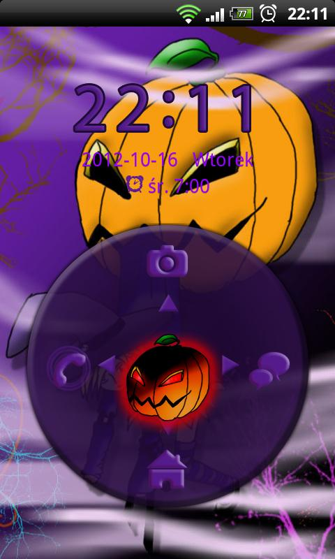 GO Locker Theme Halloween - screenshot