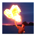 Blow Fireballs Prank logo