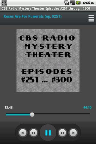 CBS Radio Mystery Theater V.06