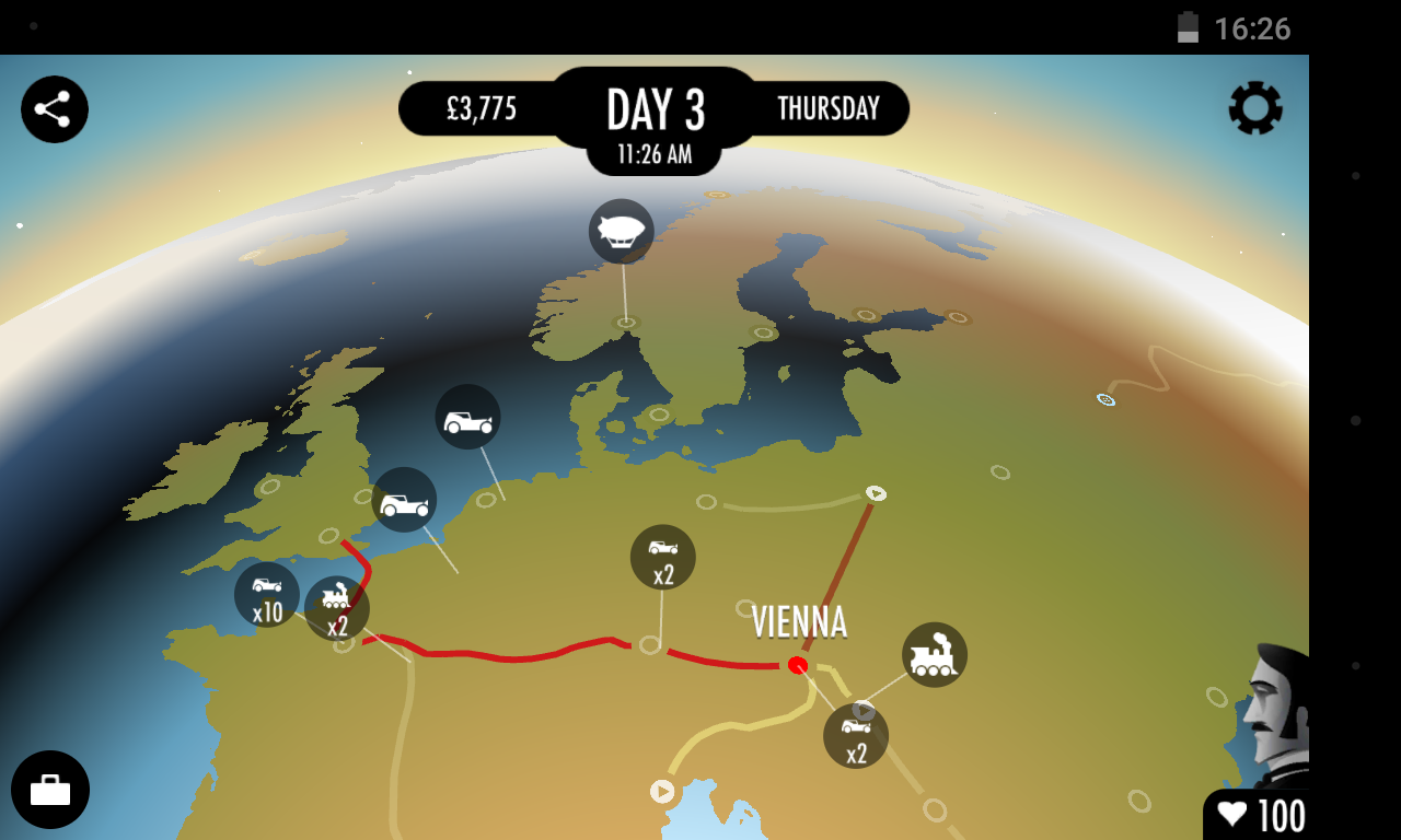 80 Days screenshot #4