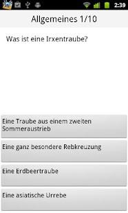 Weinquiz Allgemein - screenshot thumbnail