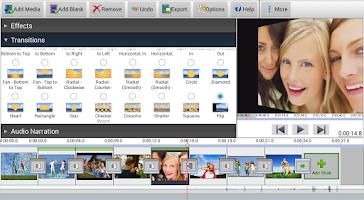 Screenshot of PhotoStage Slideshow Free