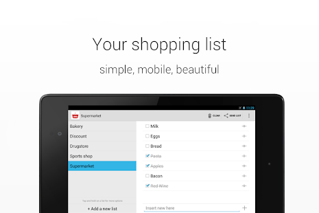 Shopping List - screenshot thumbnail