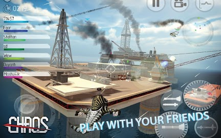 CHAOS Combat Helicopter 3D Screenshot 1