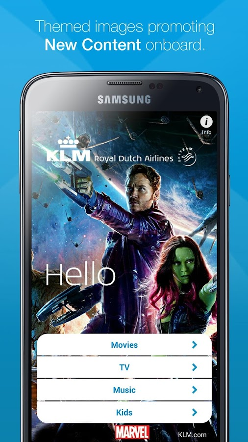 KLM Movies & more- screenshot