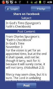 Faith's Checkbook Devotional- screenshot thumbnail