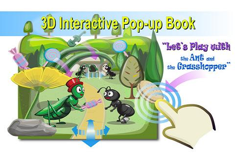 Ant&Grasshopper:3D Story Book - screenshot