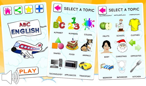 English for kids free game