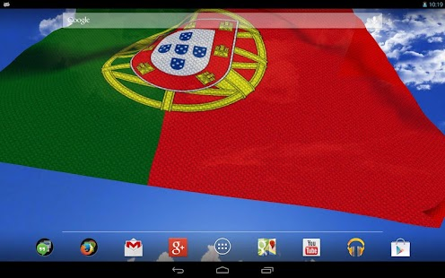 3D Portugal flag LWP - screenshot thumbnail